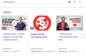 videoturundus
